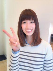[枚方市樟葉美容院口コミNO.16]似合うヘアスタイルをど真剣に考えてくれる美容師さん♪