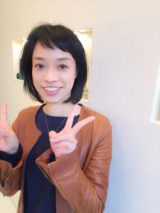 [枚方市樟葉美容院口コミNO.15]要望を尊重・飽きないヘアを共に考えてくれる熱い美容師さん