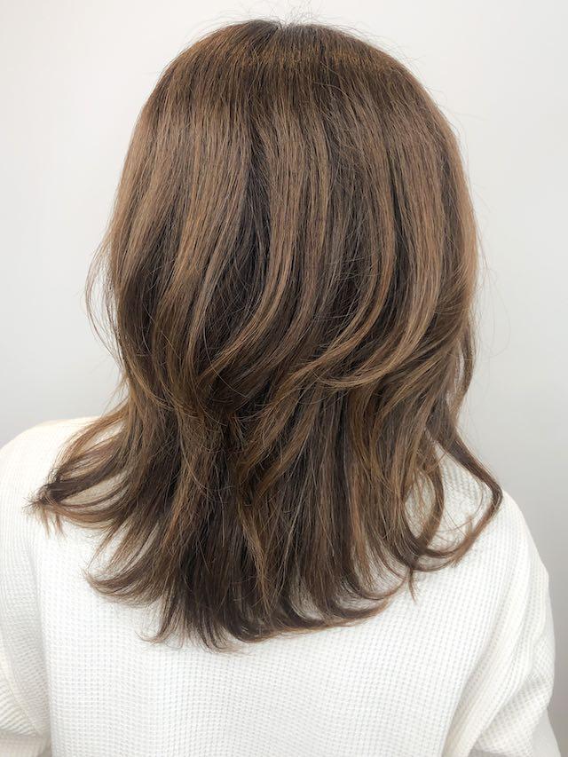 [2020オススメグレイ(白髪)カラー]明るめアッシュベージュ
