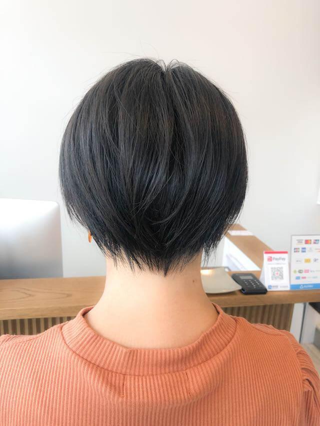 ママさんは黒髪ショートがお洒落度抜群!!
